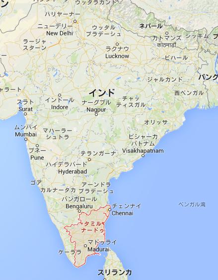 インド・タミル・ナードゥ州(Ta...